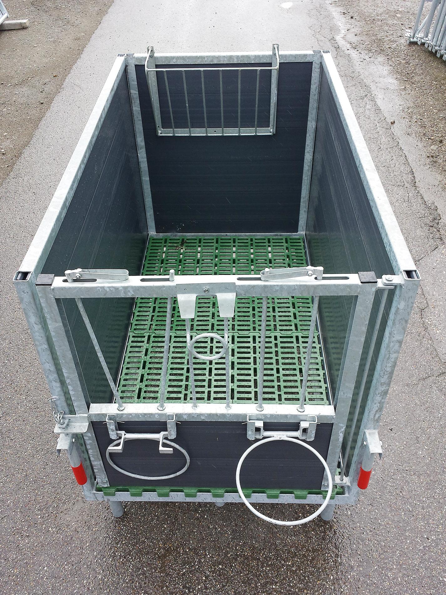 fahrbarer untersatz für container